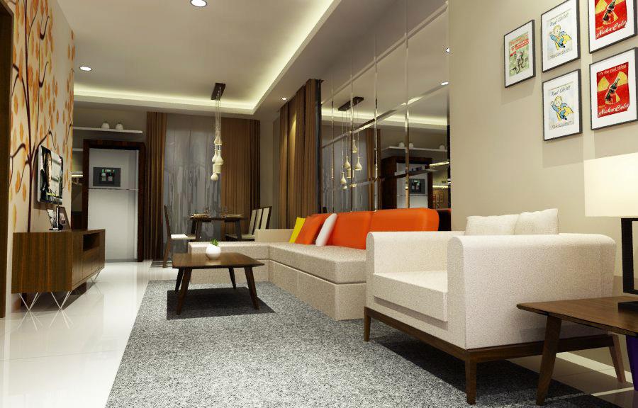 Jasa desain dan kontraktor interior - jasa desain interior -Apartemen Lippo Cikarang
